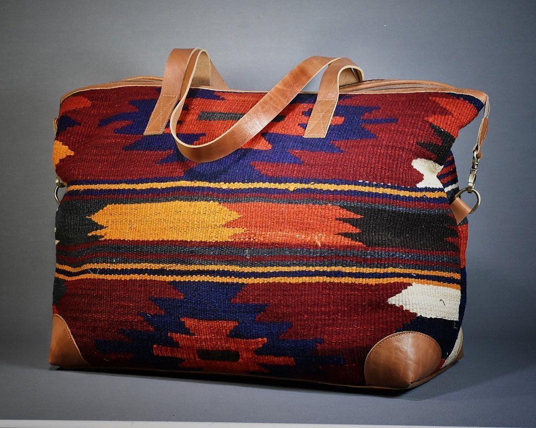 درنا کیف گلیمی زیبا