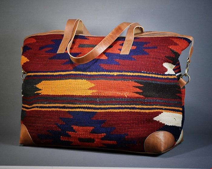 کیف گلیم درنای پائیزی